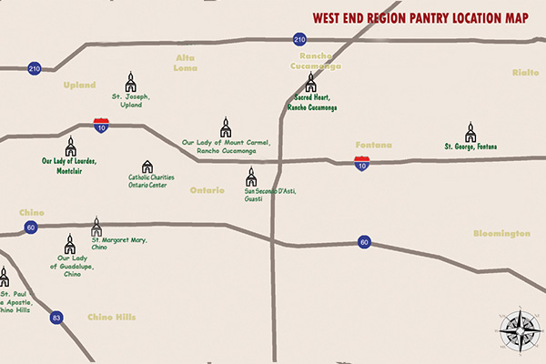West End Vicariate Map